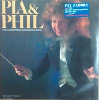 Pia Zadora With                             The London Philharmonic Orchestra                                ‎–                                                            Pia & Phil