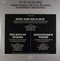 Don Sebesky ‎– Three Works For Jazz Soloists & Symphony Orchestra