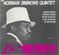 Norman Simmons Quintet                                ‎–                                                            I'm... The Blues