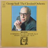 Brahms - George Szell, The Cleveland Orchestra - Symphony No. 1 In C Minor / Tragic Overture