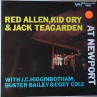Red Allen,                             Kid Ory &                             Jack Teagarden                                ‎–                                                            At Newport