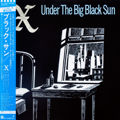 X ‎– Under The Big Black Sun