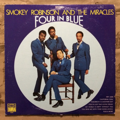 Smokey Robinson And The Miracles ‎– Four In Blue