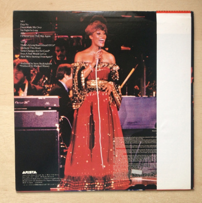 Dionne Warwick - Hot ! Live And Otherwise