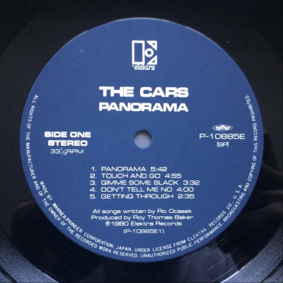 The Cars ‎– Panorama
