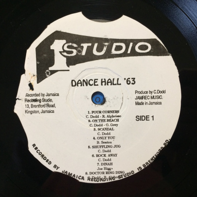 King Stitt ‎– Dance Hall '63