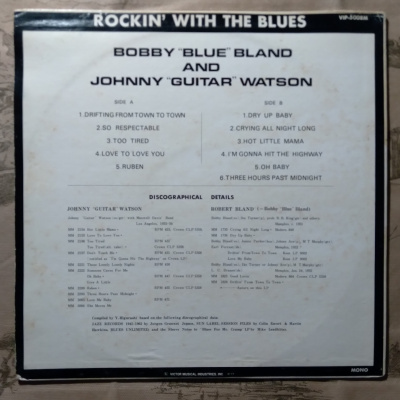 "Bobby ""Blue"" Bland Johnny ""Guitar"" Watson -"