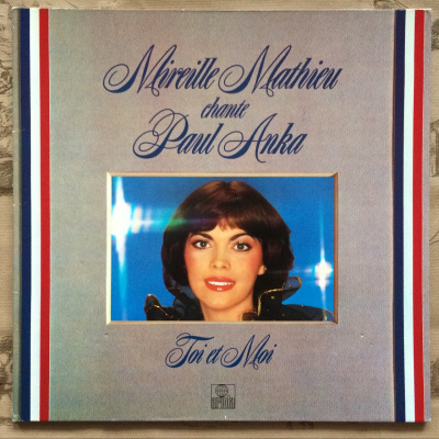 Mireille Mathieu ‎– Sings Paul Anka