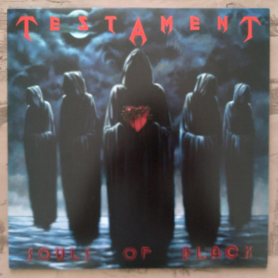 Testament ‎– Souls Of Black