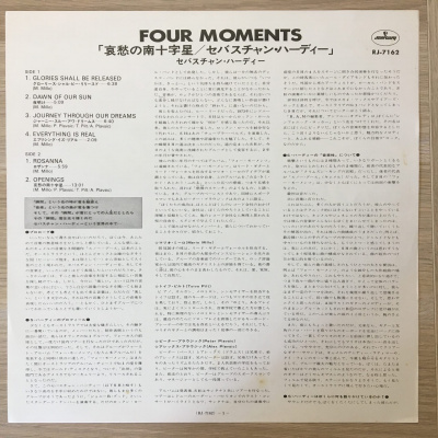 Sebastian Hardie - Four Moments